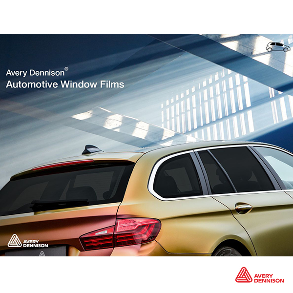 Instrucciones de aplicación del Avery Dennison ™ Automotive Window Film