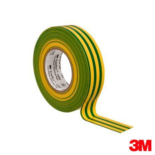 Rollo 3M Temflex Amarillo/Verde 18mm x 20m