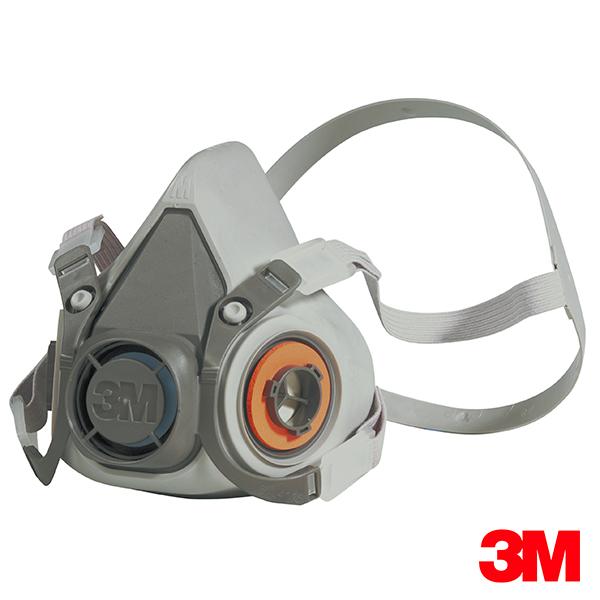 Mascarilla 3M 6200 Mediana