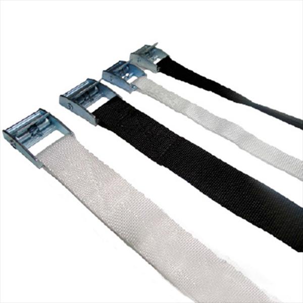 Cinta Blanca con hebilla de presion 600mm x 15mm