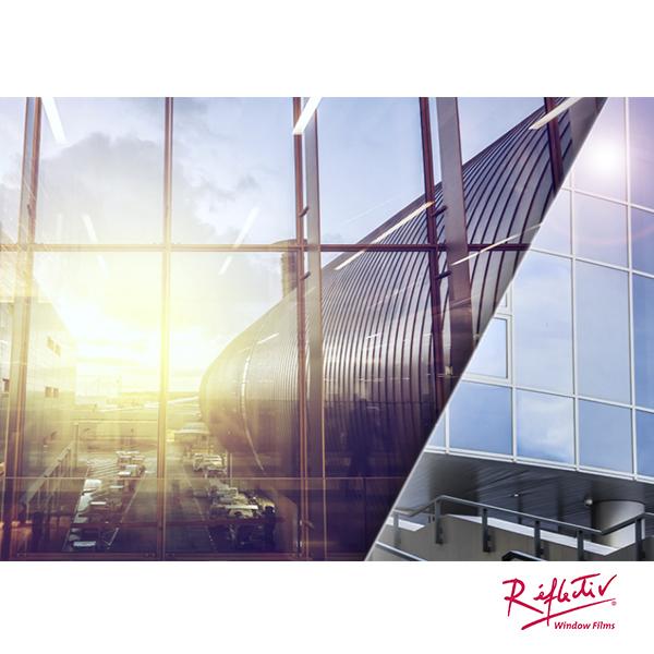 Rollo Lamina Solar Espejo anticalor SOL 162 Exterior 1.52m x 10m