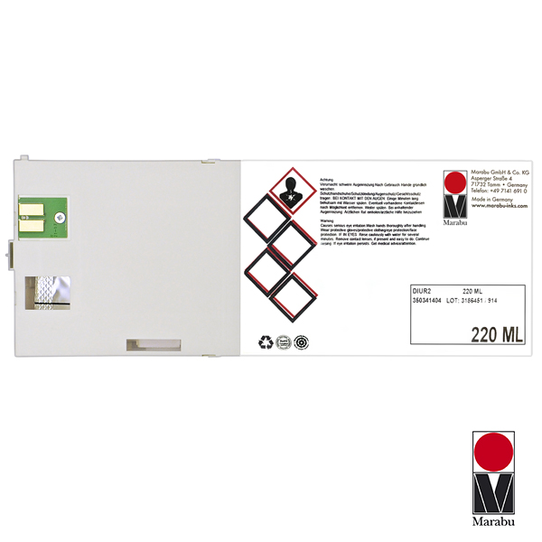 Cartucho limpiador p/Roland/Mimaki MARA 220ml