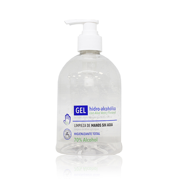 Gel Hidroalcoholico con Aloe Vera 500 ml